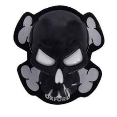 Oxford Skull Knee Sliders Black