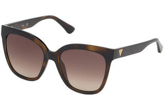 Guess GU7612-F 01B 55 Shiny Black /Gradient Smoke