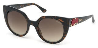 Guess GU7611 52G 53 Dark Havana/Brown Mirror