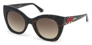 Guess GU7610 52G 51 Dark Havana/Brown Mirror