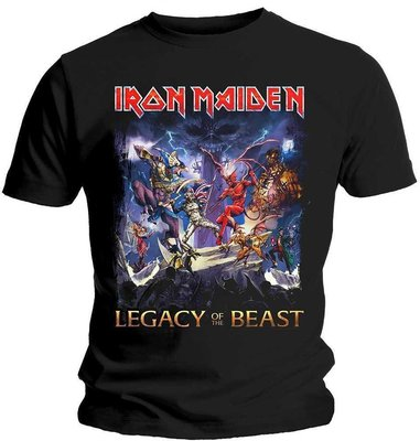 Iron Maiden Mens Tee Legacy Of The Beast XL