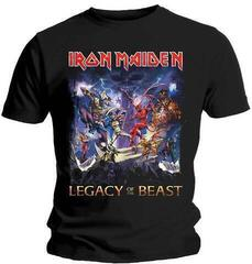 Iron Maiden Mens Tee Legacy Of The Beast Black
