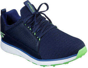 Skechers GO GOLF Mojo Elite Mens Golf Shoes Navy/Lime 42,5