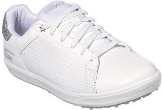 Skechers GO GOLF Drive Womens Golf Shoes White/Silver
