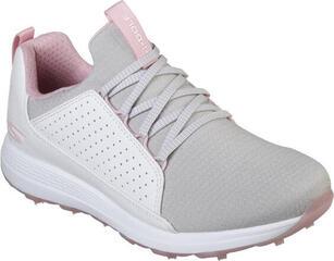 Skechers GO GOLF Max - Mojo Chaussures de Golf Femmes White/Grey/Pink