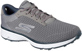 Skechers GO GOLF Fairway - Lead Mens Golf Shoes Grey/Navy Blue