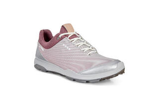 Ecco Biom Hybrid 3 Womens Golf Shoes White/Black Transparent