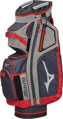 Mizuno BR-D4 Cart Bag Grey/Red