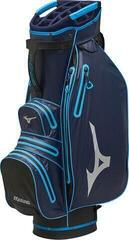 Mizuno BR-DRI Waterproof Cart Bag Navy/Cyan