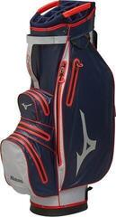 Mizuno BR-DRI Waterproof Cart Bag Navy/Red
