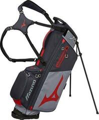 Mizuno BR-D3 Stand Bag Grey/Red