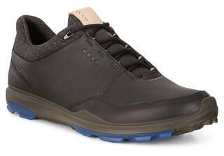 Ecco Biom Hybrid 3 Mens Golf Shoes Black/Bermuda Blue