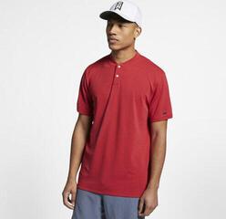 Nike Tiger Woods AeroReact Vapor Polo Golf Homme Gym Red