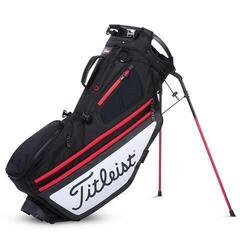 Titleist Hybrid 14 Black/White/Red Stand Bag