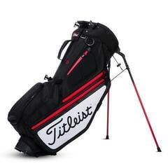 Titleist Hybrid 5 Black/White/Red Stand Bag