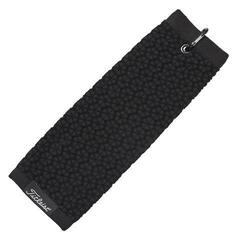 Titleist Tri-Fold Cart Towel Black