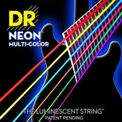 DR Strings Multi Color 10
