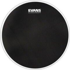 """Evans SoundOff 22"""" Schwarz Schlagzeugfell"""