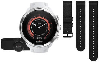 Suunto 9 G1 Baro White + HR Belt SET