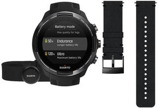 Suunto 9 G1 Baro Black + HR Belt Deluxe SET