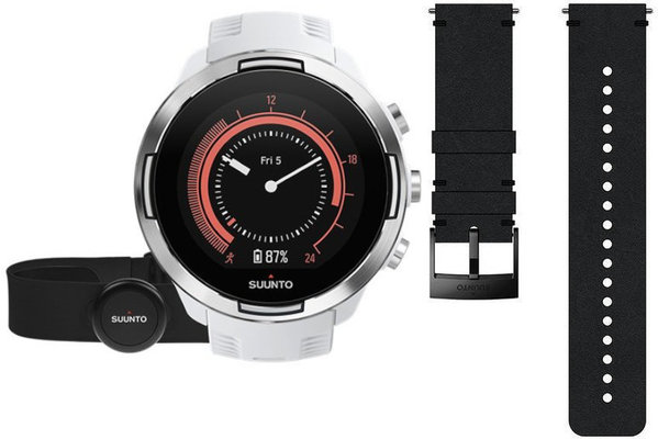Suunto 9 G1 Baro White + HR Belt Deluxe SET