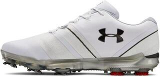 Under Armour Spieth 3 E Wide Mens Golf Shoes White US 9,5