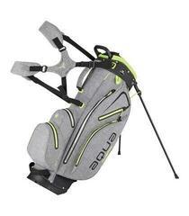 Big Max Dri Lite Hybrid Storm Silver/Black/Lime Stand Bag