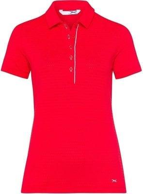 Brax Sirina 3 Womens Polo Shirt Red M