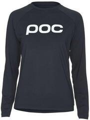 POC Essential MTB Women's LS Jersey Uranium Black