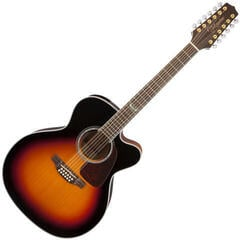 Takamine GJ72CE-12 Brown Sunburst (Unboxed) #931447