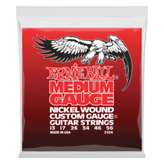 Ernie Ball 2204 Medium Electric Nickel Wound