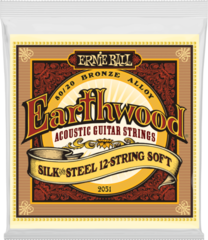 Ernie Ball 2051 Earthwood Silk & Steel Soft 12-String Acoustic