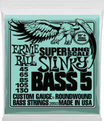 Ernie Ball 2850 Bass 5 Slinky Super Long Scale