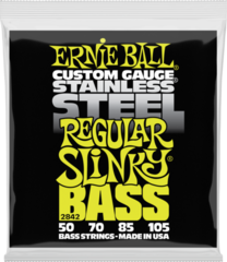Ernie Ball 2842 Regular Slinky Stainless Steel Electric Bass 50-105