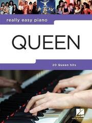 Hal Leonard Really Easy Piano Queen Updated: Piano or Keyboard