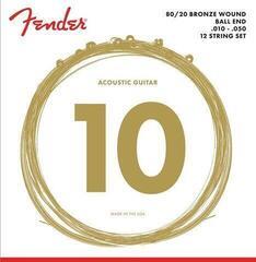 Fender 70-12L 80/20 Bronze Ball End 10-48