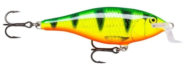 Rapala Shallow Shad Rap Fire Perch 9 cm