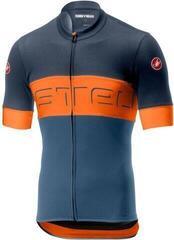 Castelli 19015 Prologo VI. Dark Steel Blue/Orange/Steel Blue