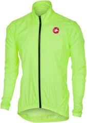 Castelli Squadra ER Mens Jacket Fluo Yellow