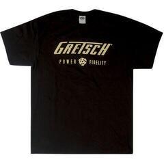 Gretsch Power & Fidelity Logo T-Shirt Black