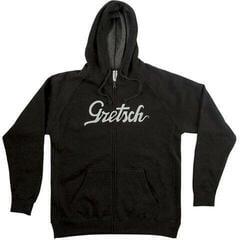Gretsch Script Logo Hoodie Black