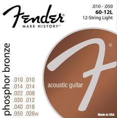 Fender Phosphor Bronze Acoustic Guitar Strings - Light