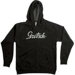 Gretsch Script Logo Hoodie Gray L