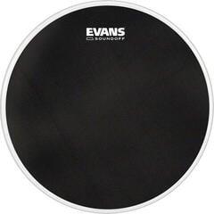 """Evans SoundOff 16"""" Black Drum Head"""