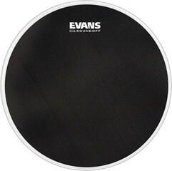 """Evans SoundOff 14"""" Schwarz Schlagzeugfell"""