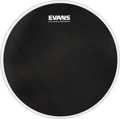 """Evans SoundOff 12"""" Black Drum Head"""
