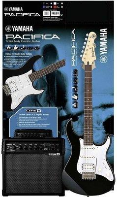 Yamaha Pacifica 012 Black & Spider V20 Pack