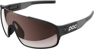POC Crave Clarity Uranium Black Translucent/Grey-Brown/Silver Mirror