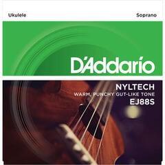 D'Addario EJ88S Nyltech Ukulele Soprano
