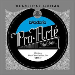 D'Addario CBN-3T Half Set Pro-Arte Carbon Trebles Normal Tension